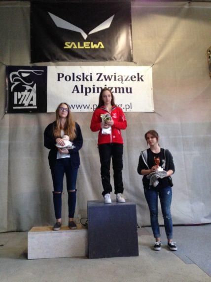 ola podium 2016 Łódź